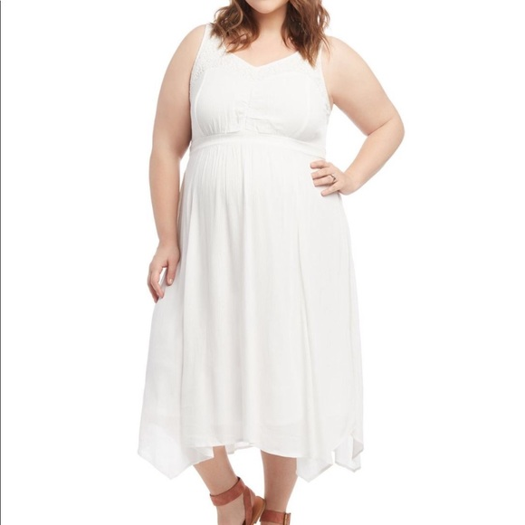 Plus size motherhood maternity dress